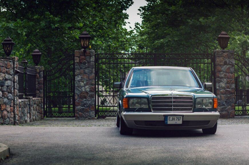 Old Classy Benz