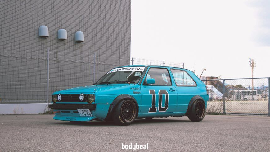 Go JDM on a MK2 Golf? Sure why not!