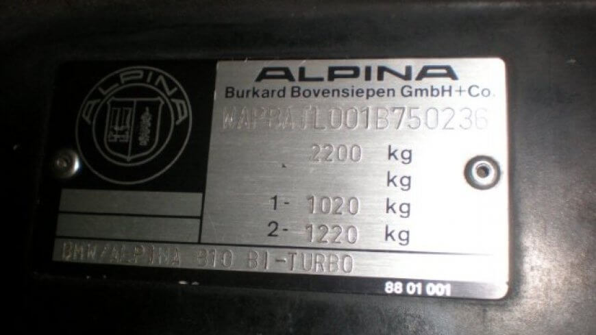 Alpina B10 - a second chance