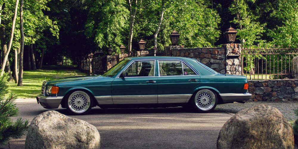Old Classy Benz → Stanced.info